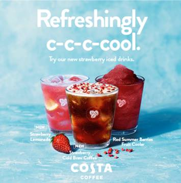 As the weather gets warmer, choose a refreshing, cooler twist on your usual favourites. Pop into the store at Gallagher Shopping Park today to try our new Strawberry iced drinks range Event Image